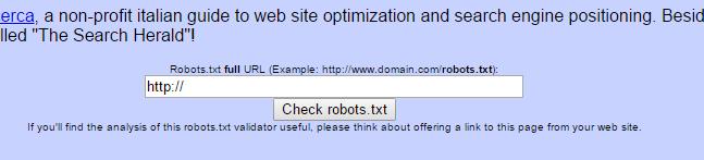 Robots.txt Checker