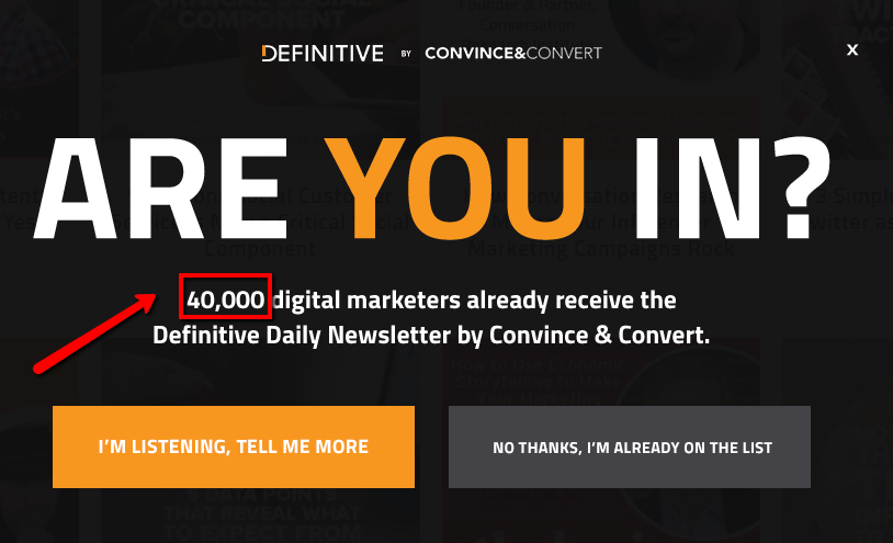 Convince and Convert